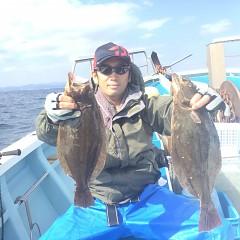 10月 29日(月) 午前便・ヒラメ釣りの写真その2