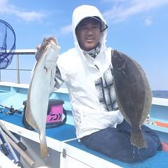 10月 29日(月) 午前便・ヒラメ釣りの写真その4