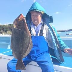 10月 30日(火) 午前便・ヒラメ釣りの写真その1