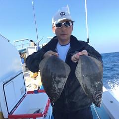 11月 8日(木) 午前便・ヒラメ釣りの写真その1