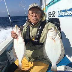 11月 8日(木) 午前便・ヒラメ釣りの写真その3