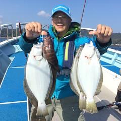 11月 8日(木) 午前便・ヒラメ釣りの写真その5