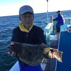 11月15日(木)午後便・ヒラメ釣りの写真その1