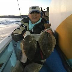 11月15日(木)午後便・ヒラメ釣りの写真その2