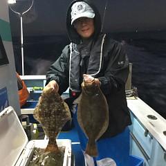 11月15日(木)午後便・ヒラメ釣りの写真その3