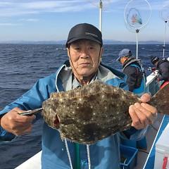 11月 17日(土) 午前便・ヒラメ釣りの写真その1