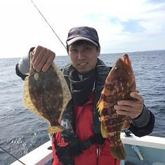 11月 17日(土) 午前便・ヒラメ釣りの写真その2