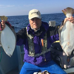 11月 27日(火) 午前便・ヒラメ釣りの写真その6