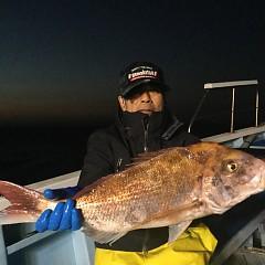 11月29日(木)午前便・ヒラメ釣り・午後便・ウタセ釣りの写真その1