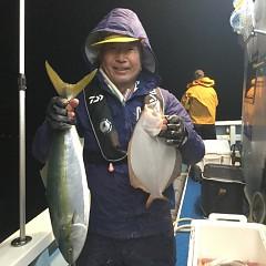 11月29日(木)午前便・ヒラメ釣り・午後便・ウタセ釣りの写真その2