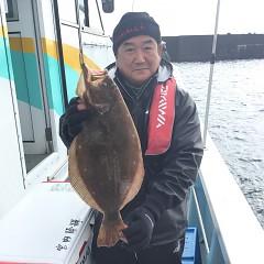 12月 2日(日) 午前便・ヒラメ釣り 午後便・ウタセ真鯛の写真その1