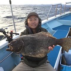12月8日(土)午前便・午後便・ヒラメ釣りの写真その1