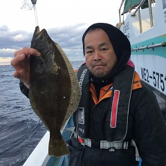12月8日(土)午前便・午後便・ヒラメ釣りの写真その2