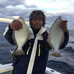 12月8日(土)午前便・午後便・ヒラメ釣りの写真その3