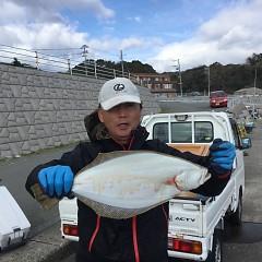 12月9日(日)午前・午後便・ヒラメ釣りの写真その1