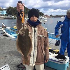 12月9日(日)午前・午後便・ヒラメ釣りの写真その2