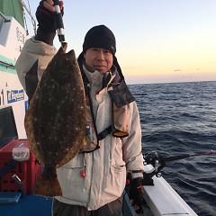 12月 13日(木) 午後便・ヒラメ釣りの写真その1
