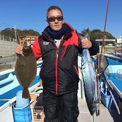 12月17日(月)午前便・ヒラメ・青物釣りの写真その2
