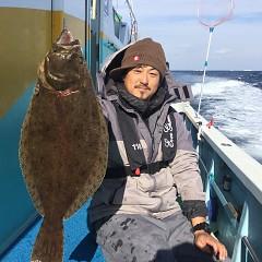 12月 19日(水) 午前便・ヒラメ釣りの写真その1