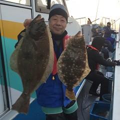 12月 19日(水) 午後便・ヒラメ釣りの写真その2