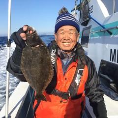 12月 21日(金) 午前便・ヒラメ釣りの写真その2