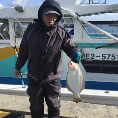12月27日(木)午前便・ヒラメ釣りの写真その2