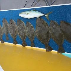 12月31日(月)午前便・ヒラメ釣りの写真その2