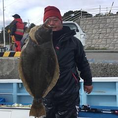 1月6日(日)午前便・ヒラメ釣りの写真その2
