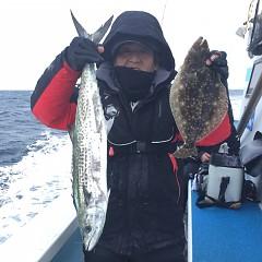 1月6日(日)午前便・ヒラメ釣りの写真その4