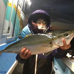 1月 11日(金) 午後便・アジ釣りの写真その1