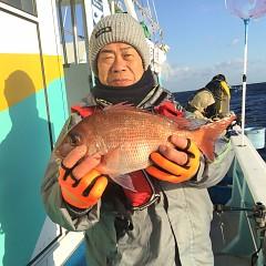 1月 27日(日) 午後便・アジ釣りの写真その1