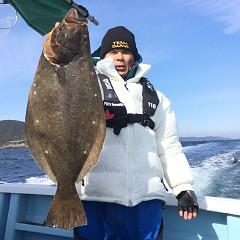 1月 30日(水) 午前便・ヒラメ釣りの写真その1