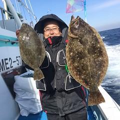 1月 30日(水) 午前便・ヒラメ釣りの写真その2