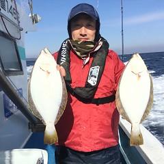 1月 30日(水) 午前便・ヒラメ釣りの写真その3