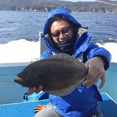 1月 30日(水) 午前便・ヒラメ釣りの写真その4