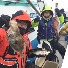 2月9日(土)午前・午後便・アジ釣りの写真その1