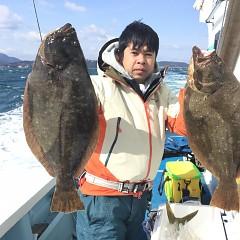 2月 10日(日) 午前便・ヒラメ・青物の写真その4