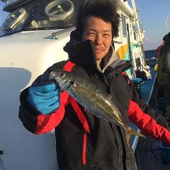 2月17日(日)午前便・ヒラメ釣り・午後便・アジ釣りの写真その2