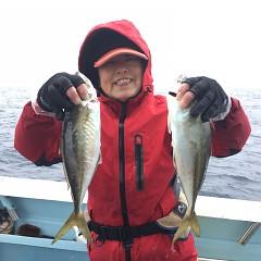 3月 10日(日) 午前便・アジ釣りの写真その1