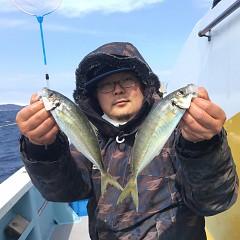 3月 16日(土) 午前・午後便・アジ釣りの写真その1