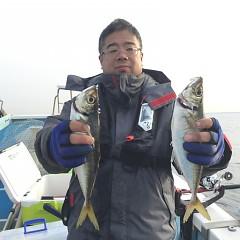 3月29日(金)午後便・アジ釣りの写真その1