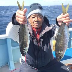 3月31日(日)午前便・アジ釣りの写真その1