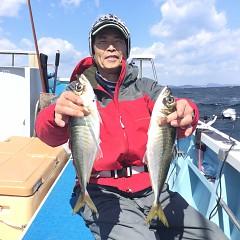 3月31日(日)午前便・アジ釣りの写真その2