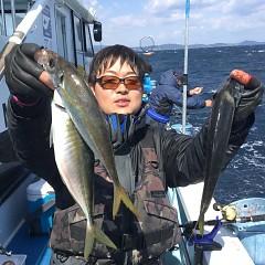 3月31日(日)午前便・アジ釣りの写真その3