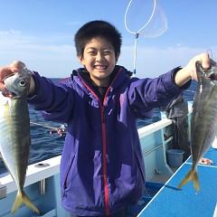4月5日(金)午後便・アジ釣りの写真その1