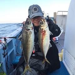 4月12日(金)午前・午前便・アジ釣りの写真その2