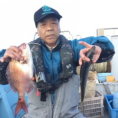 4月12日(金)午前・午前便・アジ釣りの写真その4