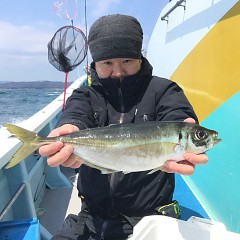 4月 13日(土) 午前・午後・アジ釣りの写真その1
