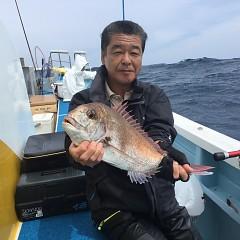 5月18日(土)午後便・マダイ釣りの写真その1