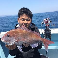 5月25日(土)午前・アジ釣り・午後便・マダイ釣りの写真その2